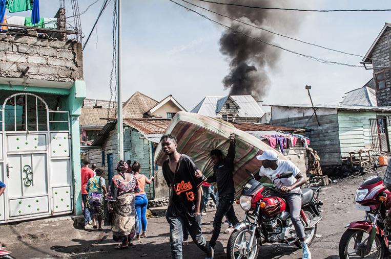 RDC: au moins 26 morts dans le crash d'un avion sur Goma