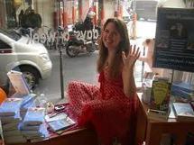 Une auteur anglaise pour six jours en vitrine à Paris