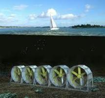 Energies marines: la France ne veut pas rater la vague des hydroliennes