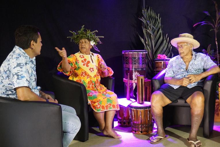 Fabien Dinard, Jeanine Maru et papa Teupoo - crédit CAPF.