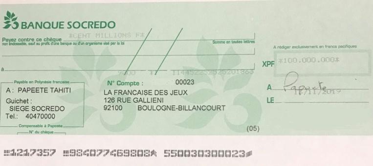 Une joueuse de la Presqu'île gagne 100 millions