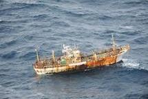 Un an après le tsunami, un navire fantôme nippon apparaît au large du Canada