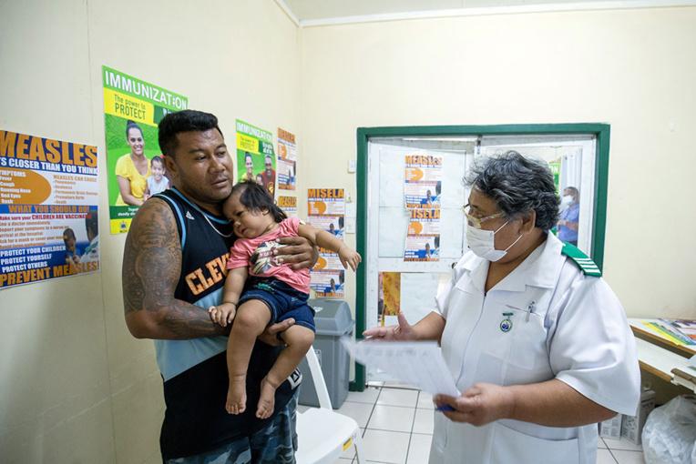 Rougeole: les îles Samoa se claquemurent, l'Unicef en appelle à la responsabilité des réseaux sociaux