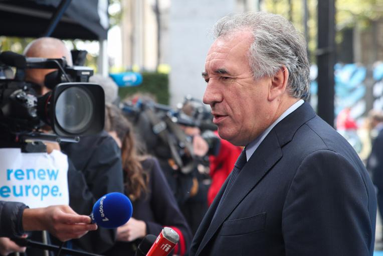 Bayrou entendu par les juges dans l'affaire des assistants d'eurodéputés MoDem