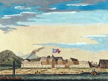 Le Fort Vénus, construit par James Cook