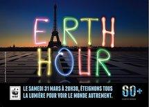 Earth Hour: opération lumières éteintes à partir de 20h30 ce soir