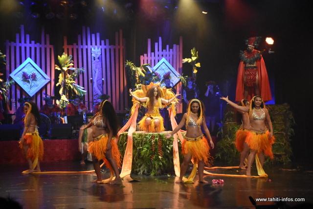 L'école de danse Hanihei arrive à la 3e place dans la catégorie Tapairu.