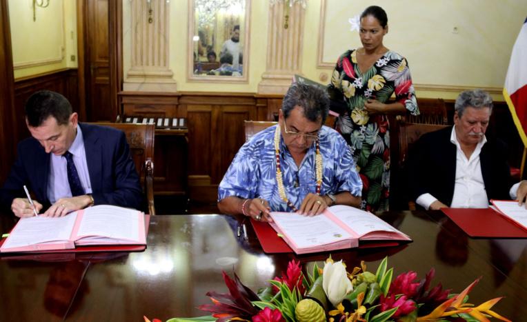 Accord entre le Pays et la CDC pour la création d'un aménageur