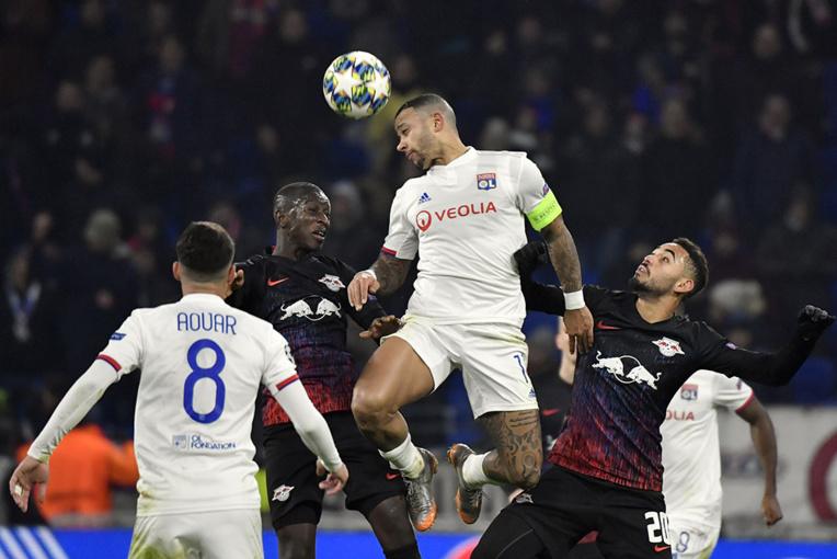 C1: une soirée en clair-obscur pour Lyon, qualifié mais fâché