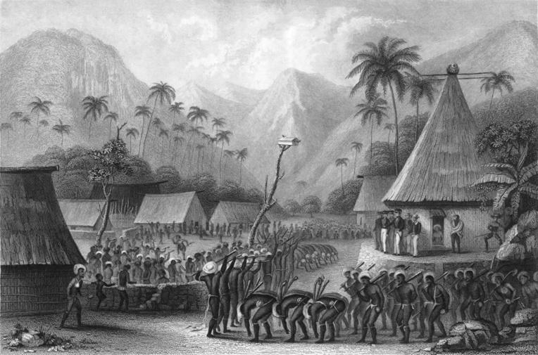 40 000 Fidjiens environ firent les frais de la négligence coupable des Anglais. A moins que l'épidémie ait été introduite volontairement, ce que l'on n'ose pas imaginer...