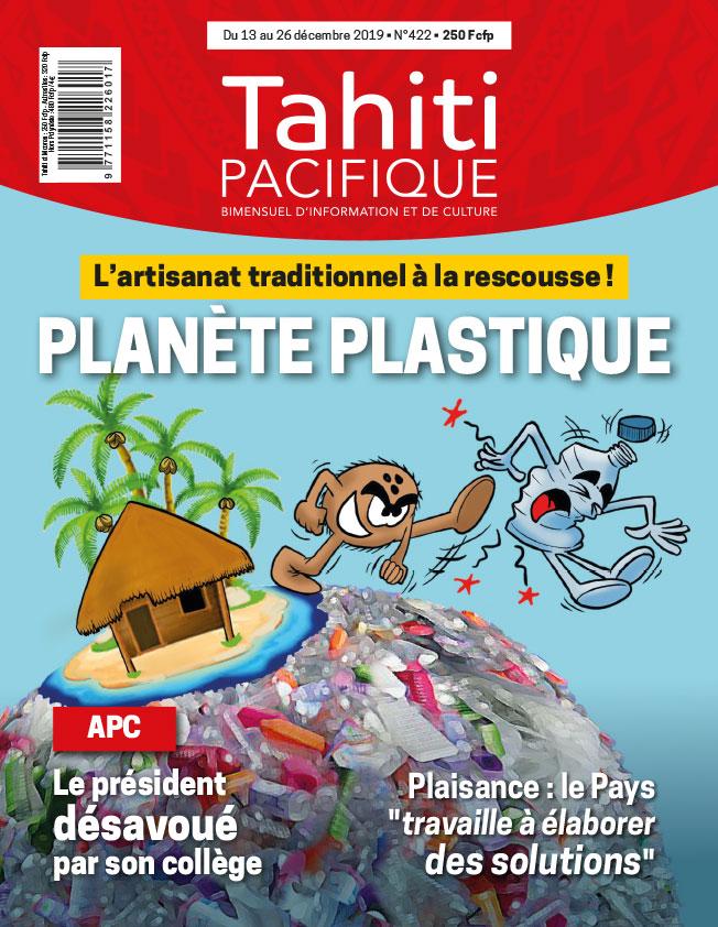 À la Une de Tahiti Pacifique vendredi 13 décembre