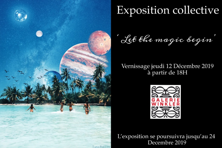 """Let the magic begin"" à la galerie Winkler"