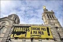 """Manifestations dans le Var pour dire """"non"""" aux forages pétroliers en Méditerranée"""
