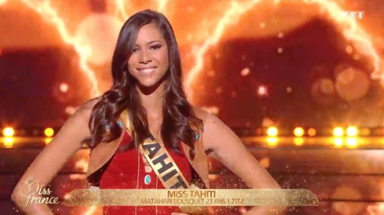 Miss Guadeloupe élue Miss France 2020, Matahari Bousquet 2ème dauphine