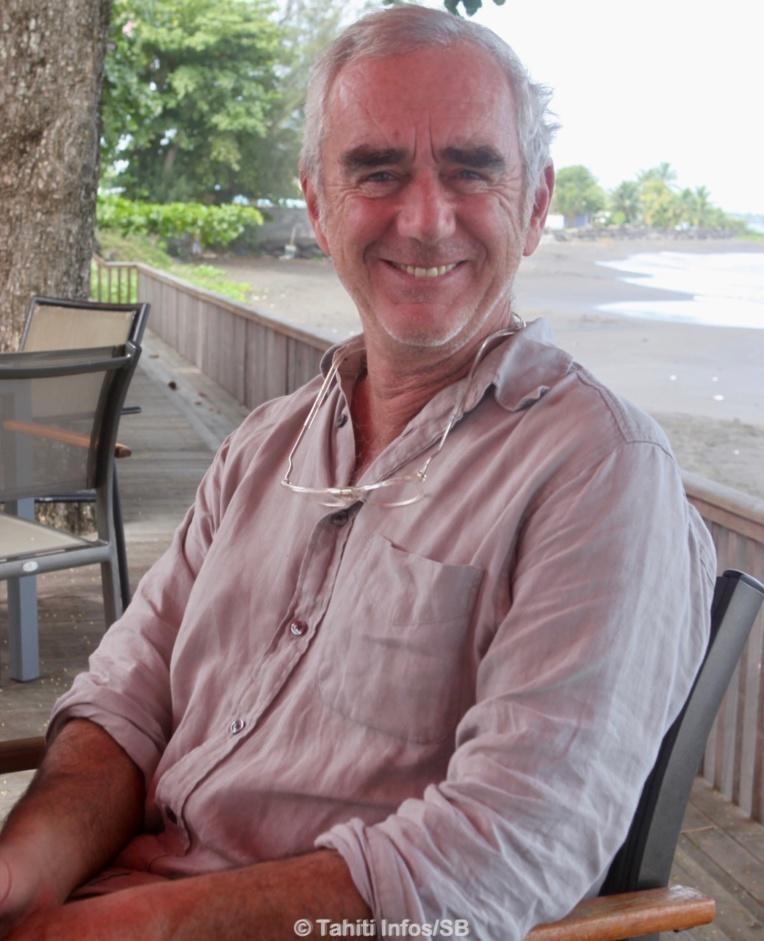 Loïck Peyron, ambassadeur du fenua