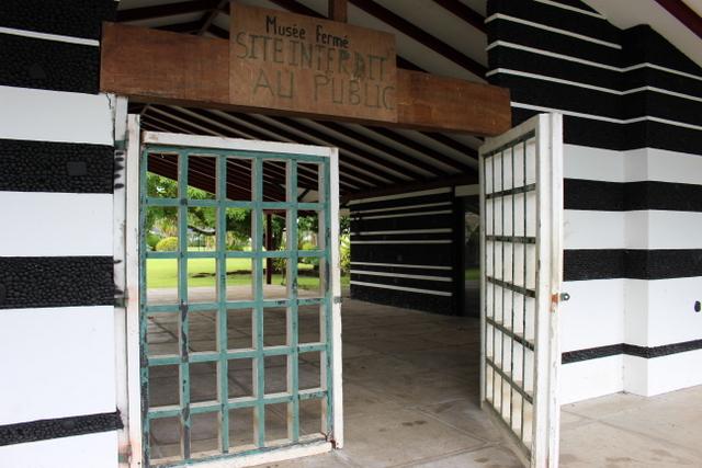Depuis sa fermeture en 2013, le musée Paul Gauguin à Papeari est un chantier.