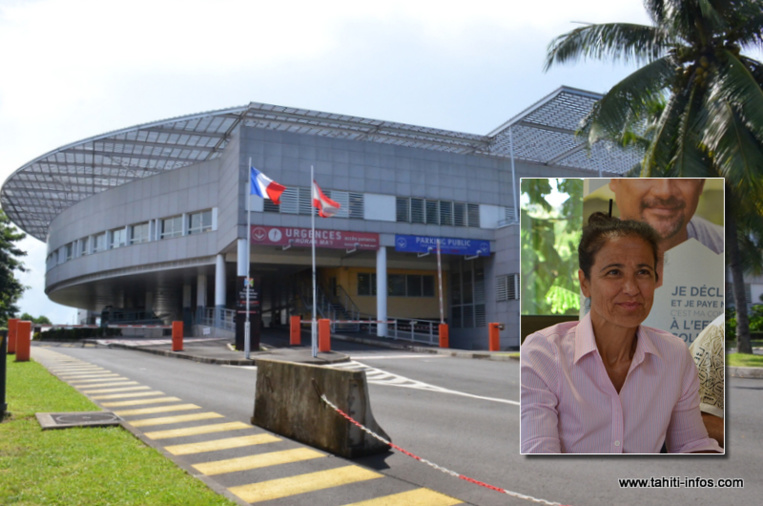 Claude Panero nommée directrice du CHPF