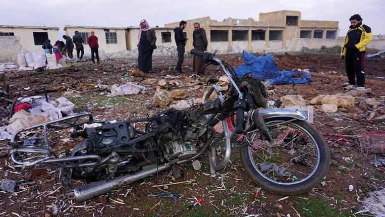 Syrie: des raids russes sur Idleb font huit morts dont cinq enfants, selon une ONG