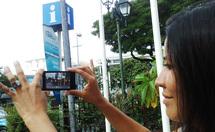 La fonction de réalité augmentée , un outil précieux pour les touristes...et les résidents!