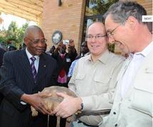 Monaco accueille sept tortues offertes par l'ex-président du Mali en exil