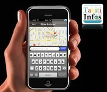 Avec l'application TAHITI INFOS, profitez d'un service de géolocalisation partique et gratuit à Tahiti