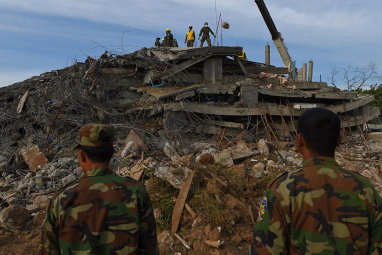 Cambodge: 36 morts dans l'effondrement d'un hôtel en construction
