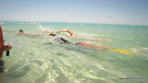 Deuxième étape de l'Open Water Challenge, à Vairao le 06 mai