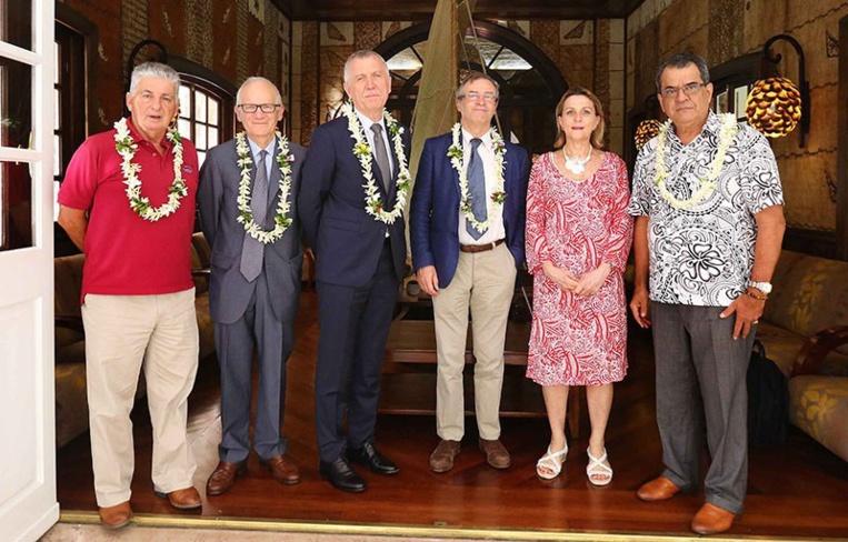 La mission Iga, Igas et IGF en Polynésie en 2018.