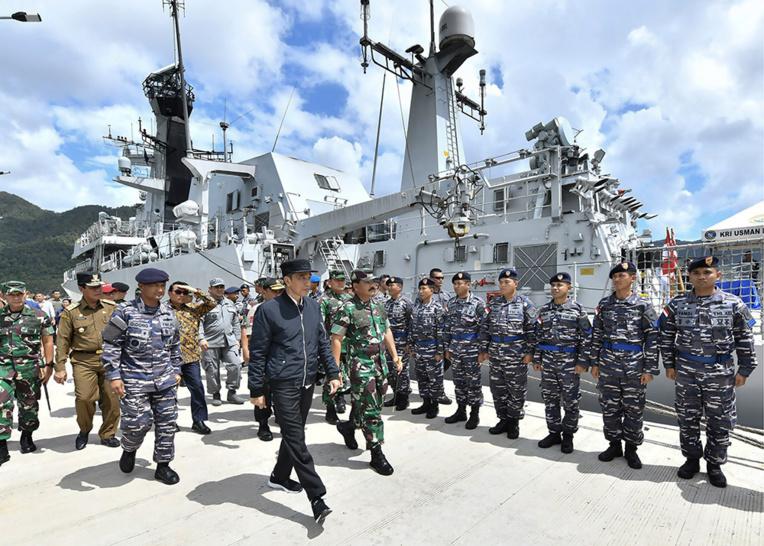 L'Indonésie déploie des forces militaires après des tensions maritimes avec la Chine