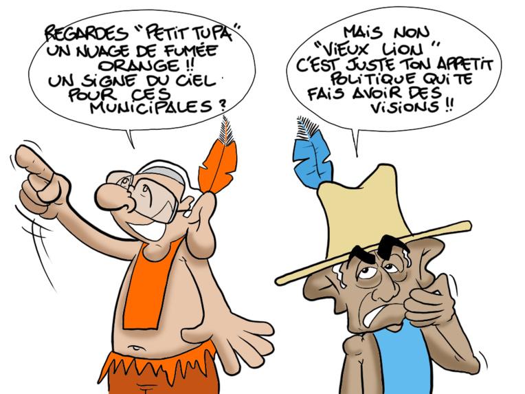 """""""Le signe"""", par Munoz"""
