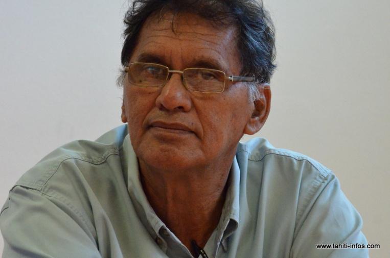 Henri Flohr candidat Tapura à Hitia'a o te Ra