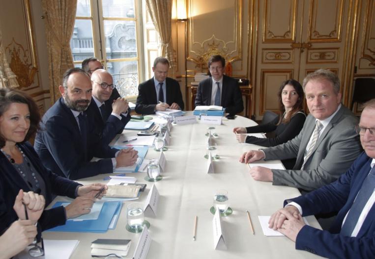 Retraites: réunions sur le financement à Matignon pour arracher un compromis