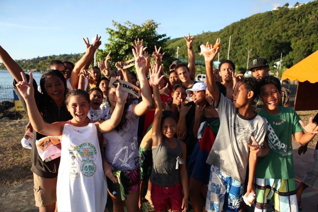 Taapuna Junior : Les enfants défavorisés de Punaauia retrouvent le sourire