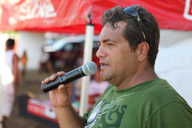 Lionel Teihotu président du club