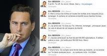 """""""Au revoir, bises, #soyezsages"""": Besson s'auto-éjecte du réseau Twitter"""