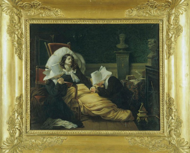 Pierre-Antoine-Augustin Vafflard, La Mort de Molière (1806)