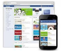 """Facebook regroupe les applications de son site dans un """"App Center"""""""
