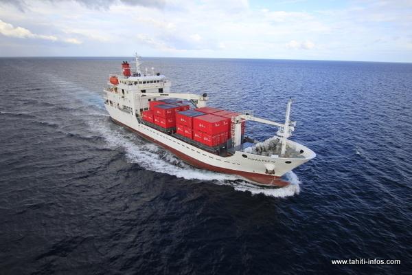 Desserte Australes: Le Cargo mixte « TUHAA PAE IV » livré arrivera à Papeete vers le 15 juin