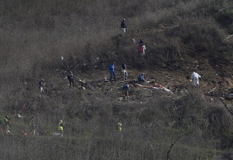 Crash d'hélicoptère de Kobe Bryant : l'enquête se poursuit près de Los Angeles