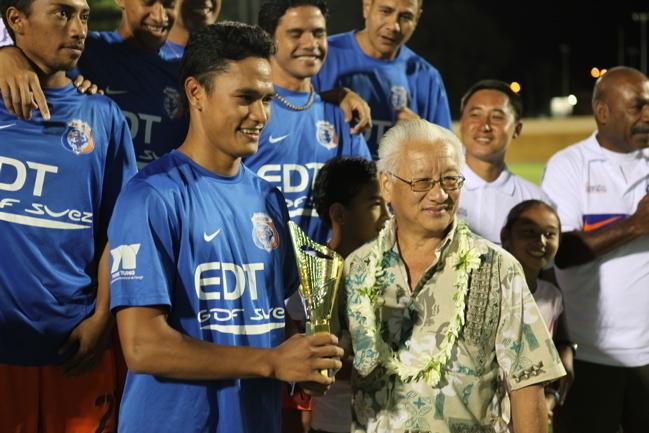 Meilleur buteur ligue mana Steevy Chong Hue