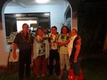 Le Tāvini Huira'atira de Paea inaugure sa permanence.