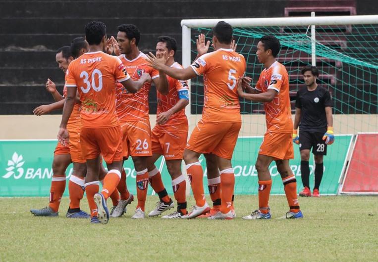 Face au club de Tipaerui, les hommes de Naea Bennett ont enchainé leur quatrième match en l'espace de dix jours. (photo : FTF)