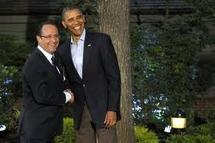 G8 à Camp David: Hollande seul à arriver en cravate, relève Obama