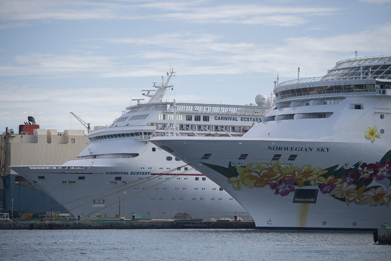 Crainte du coronavirus : deux paquebots refusés à Maré en Nouvelle-Calédonie