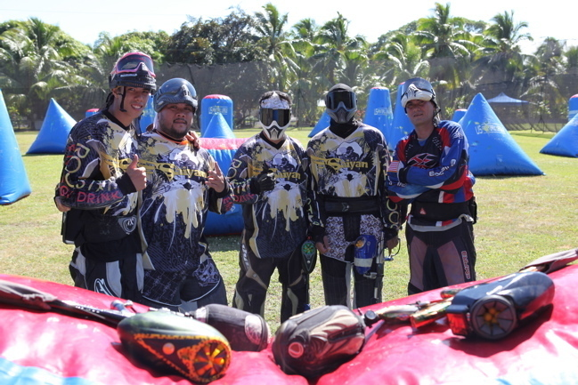 Journée Paintball à Mahina: du jeu, de l'action, du combat en plein-air