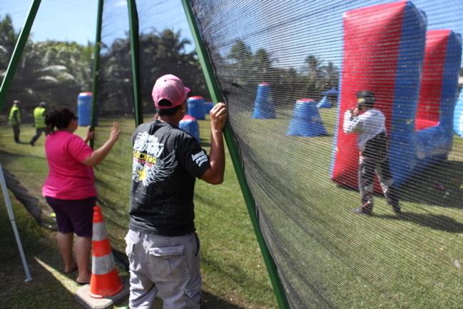Journée Paintball à Mahina: du jeu, de l'action, du combat en plein-air