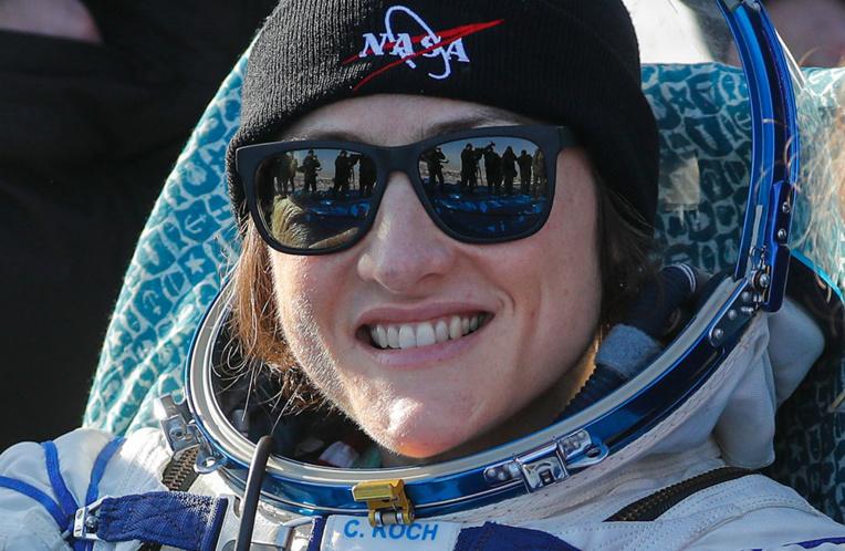 """L'astronaute américaine revient """"heureuse"""" sur Terre, après 11 mois à bord de l'ISS"""