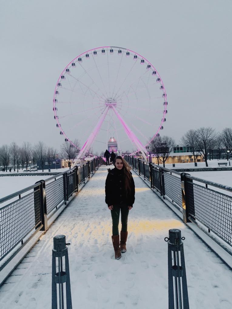 La jeune Anaïs Trondle est partie étudier à Montréal.