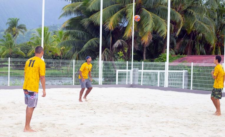 Le Beach Soccer se développe à Papara