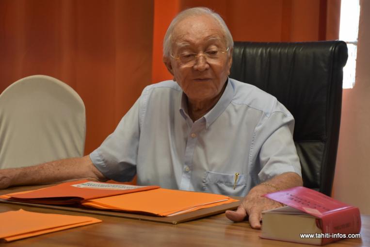 Papeete refuse la seconde demande d'inscription de Flosse